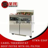 Shentop 28L*2 used henny penny pressure fryer deep fryer temperature control electric industrial fryer automatic fryer