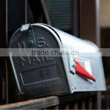 2014 hot sell OEM black mailbox