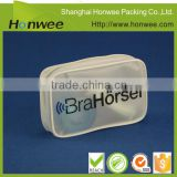 new design white screen printing ziplock mini pvc piping bag round cosmetic bag