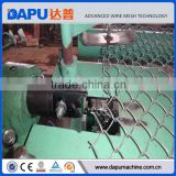 Aluminum fence plastic chain link fence machine
