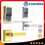 rfid card security electric handle safe hotel smart keyless digital combination door lock
