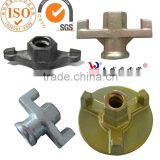 Formwork accessories cast iron tie rod anchor nut
