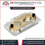 Elastic Recovery Mould for Bitumen Use