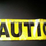 Road Barrier Warning tape
