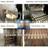 YX500 YX Series food confectionery professional good quality ce cake batter filling making machine