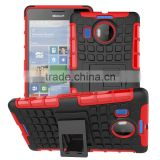 new products 2016 2 in 1 Dual Slim Armor TPU&PC kickstand case cover for microsoft nokia lumia 950 xl china wholesale