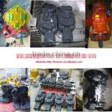 wheel loaders WA380-6,WA430-6 hydraulic oil pump loader pump assembly 708-1W-00741 708-1W-00740