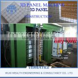 3D EPS Panel Wall Machine with CE