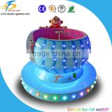 Indoor amusement park rides,360 degree ration round carousel ride,6 players carousel ride