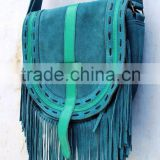 New Arrival Women's Suede Fringe Handbags Fashion leather Tassel Shoulder Bags for Ladies