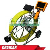 Handheld Monitor Push Line Sewer Camera Pipe Inspection Equipment Kits 100mm - 400mm Dia 712DK-SCJ