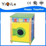 Dryer shaped wood child play house funny children's wooden kitchen solid wood toys for kids