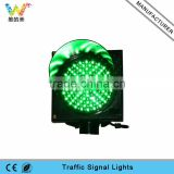 New design road safety 200mm green LED mini traffic signal light