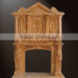 marble fireplace accessory of mantel BL484