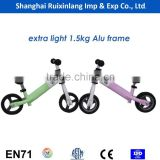 extra light weight baby walker kids mini balance bike/running bike with alu frame