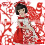 11 inch Chinese collectible doll and doll clothes