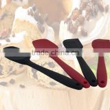 2015 New Cake Cream Butter Spatula Mixing Batter Scraper Brush Silicone Baking Tool 2pcs set G08