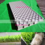 hydroponic green barley,wheat,alfalfa seedlings feed sprouting trays for animal,cattle,sheep,goats