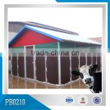 durable hot dipped galvaninzed calf house , calf hutch /portable houses for cows