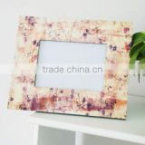 unique fashion special bamboo photo frame