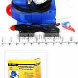 12Volt 300psi Mini car air compressor pump
