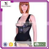Lycra Antimicrobial new design bodysuit expose breast faja latex waist cincher brazilian body shaper
