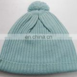 Knitted Cashmere Rib Caps