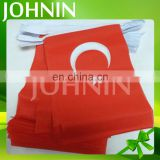 Wholesale Indoor/outdoor decorative custom polyester Turkey bunting flag