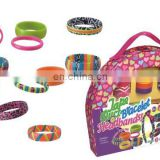 2015 NEW! DIY craft box set-make your own bracelet/bangle with duct tape for kids