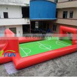 Inflatable human foosball table / Inflatable foosball pitch/Inflatable foosball field