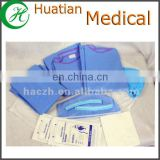 SMS 40g disposable surgical gown /blue/factory