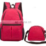 custom fashion foldable travel blank canvas backpack