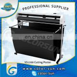 2014 newest High quality cutting force VS1200 contour cutting plotter