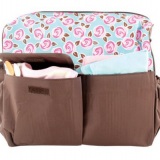 waterproof polyester diaper bag with long shoulder from China