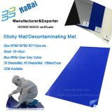 Cleanroom floor sticky mat /Decontaminating mat/ tacky mat manufacturer and supplier Nabai