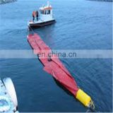 PVC Coated Tarpaulin for floating oil boom construction