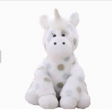 2019 wholesale trend plush toy plush dot unicorn toy from china