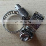 13-19mm adjustable stainless clips/clamp for pvc hose