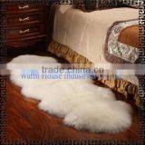 2016 Soft Sheepskin Leather Fur Rug / Natural Color or Dyed Color Sheep Skin Rugs/Animal Skin Rugs