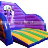 hot sale inflatable basketball pitch with basketball goal