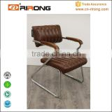 High back office chair spare parts with armrests and nylon base