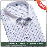 Hot sales plus size man shirts/man shirt short sleeve/short sleeve shirt for man with manufacture price