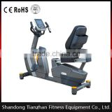 TZ-7017 commercial Magnetic recumbent exercise bike/ body fit recumbent bike