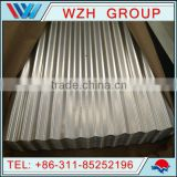 zinc-aluminum alloy-coated corrugated roofing sheet/Zn-Al sheet for steel building construction
