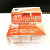 Small rolls Stationery Tape with dispenser 3rls in set
