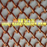 Decorative wire mesh curtains for room Divider,partitions separating public | generalmesh