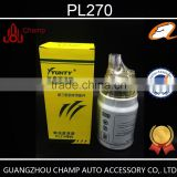 Guangdong factory wholesale diesel engine hino fuel filter PL270 in fuel system with competitive price