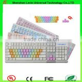 New Product Micro Wired RGB Backlit Keyboard For Sale