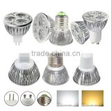 GU10/MR16/E27 9W 6W 3W LED Spot Light Bulb Energy Saving Downlight Lamp Cool/Warm/Pure white
