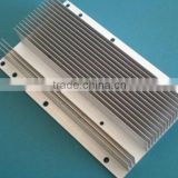 Best quality extruded machined anodized aluminium heat sink plate with drilling holes